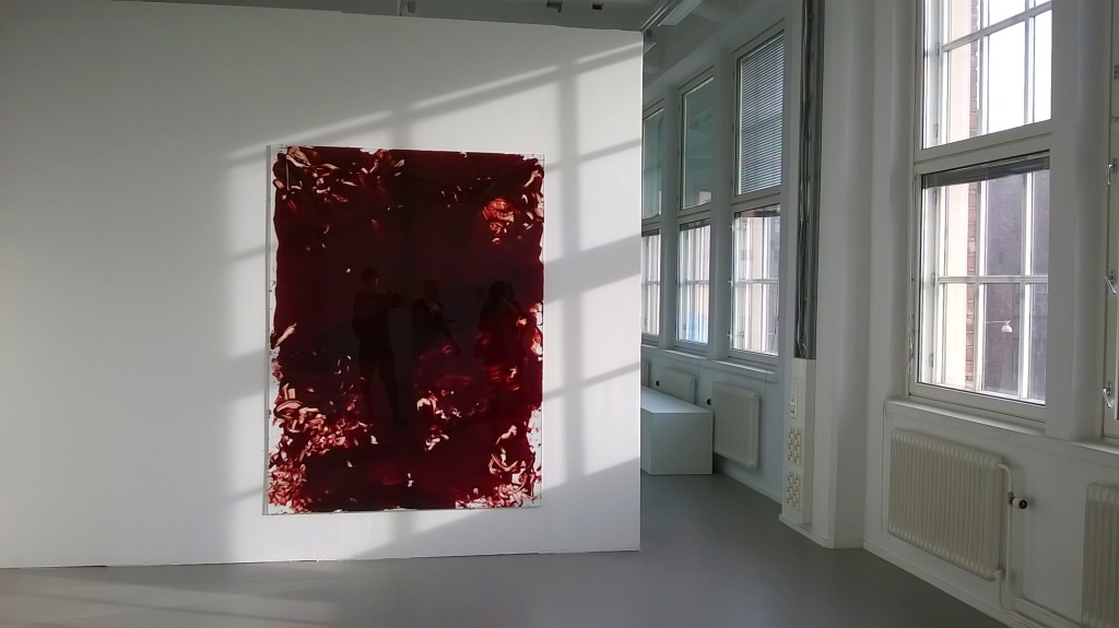 """My blood"" at Academy of Fine Arts MFA Exhibition 2015"